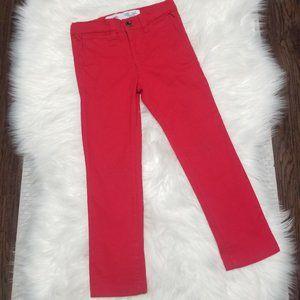 Old Navy | Red Ultimate Skinny Pants Adjustable 5T